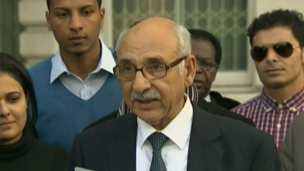 Mahmoud Al Nacoua, Libyan ambassador to the United Kingdom (Source: CNN)