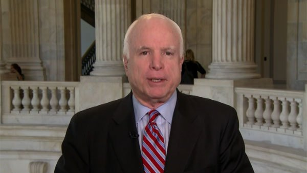 U.S. Sen. John McCain, R-AZ, ranking member of the Senate Armed Services Committee (Source: CNN)