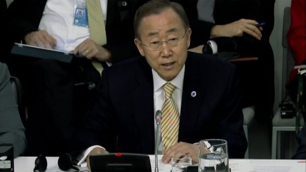 United Nations Secretary-General Ban Ki-moon (Source: CNN)