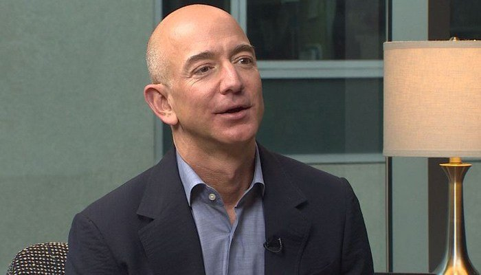 According to Bloomberg's Billionaire Index, Bezos' net worth on Tuesday reached more than $106 billion. (Source: CNN)
