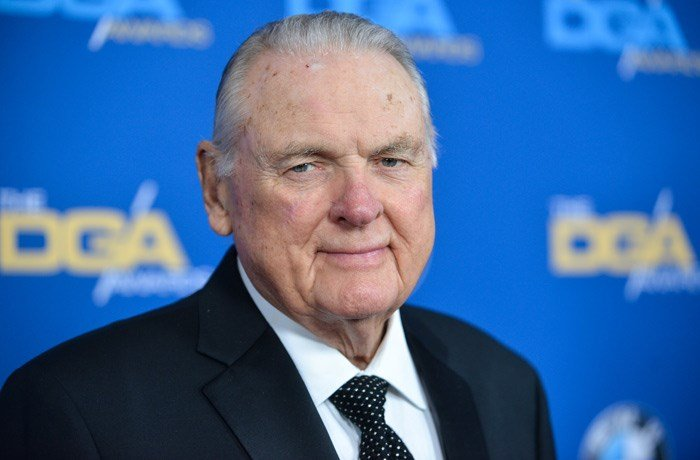 Longtime college football announcer Keith Jackson died Friday at the age of 89. (Photo by Richard Shotwell Invision/AP)