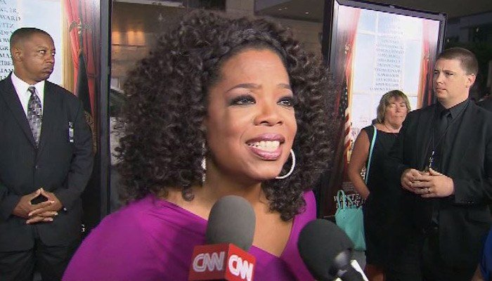 Media mogul Oprah Winfrey says a presidential bid isn't in her DNA. (Source: CNN)