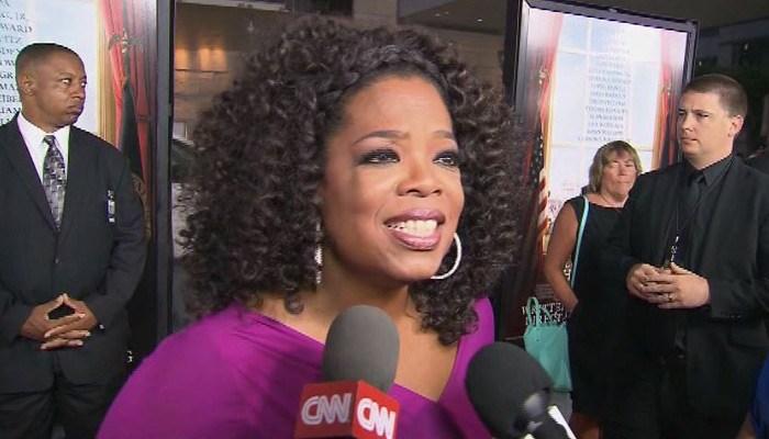 Media mogul Oprah Winfrey says a presidential bid isn't in her DNA. (Source: CNN)