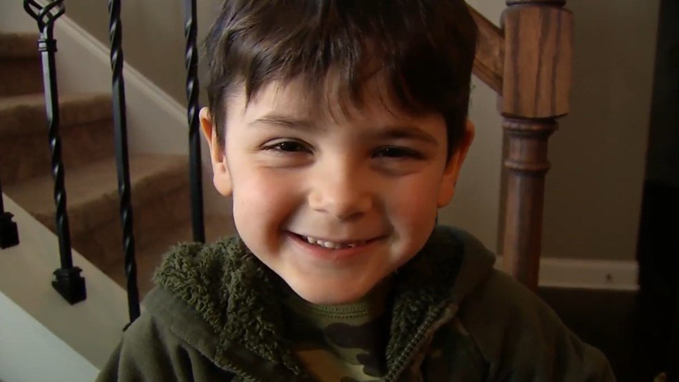 Four-year-old Kingston loves Spaghettios and chocolate milk, but he can't communicate that to his dad. He's deaf and to make matters worse, his hearing aids are failing. (Source: WZTV/CNN)