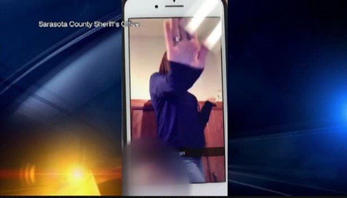 Rowena Short, 39, registrar at Sarasota High School was the adult shown dancing with the student, according to the Sarasota Sheriff's office. (Source: Sarasota County Sheriff's Office/WWSB)