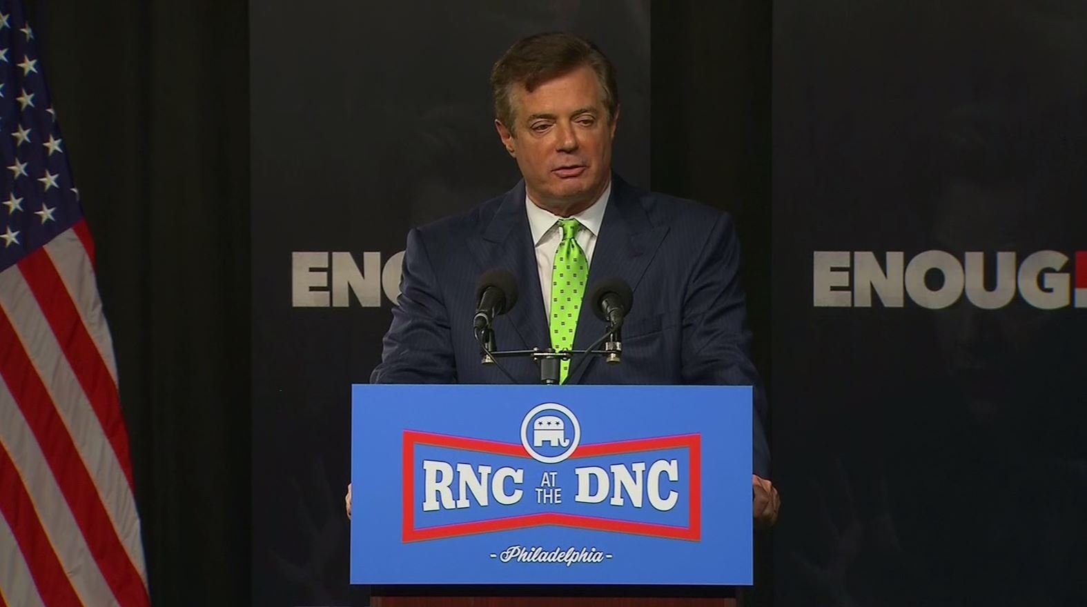 The Department of Justice has asked that a judge dismiss the lawsuit former Trump campaign chairman Paul Manafort brought against Special Counsel Robert Mueller last month, in which Manafort accused Mueller of overreach. (Source: CNN/Pool)