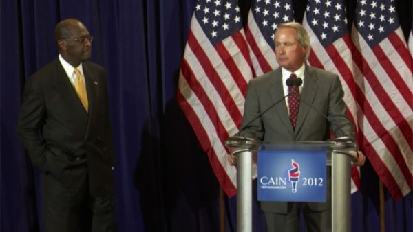 "Famed attorney Lin Wood called Cain a ""good and decent man."" (Source: CNN)"