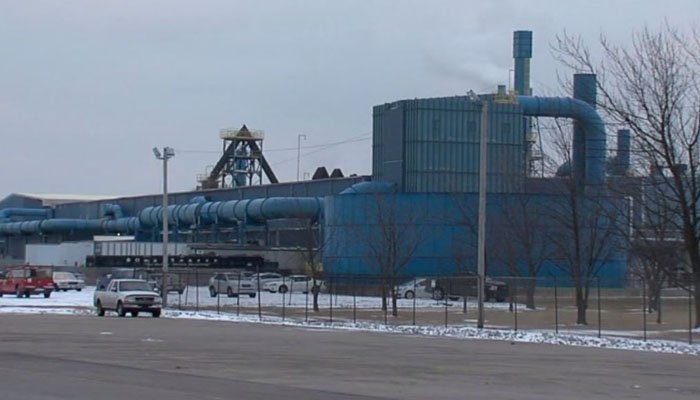 The Exide factory in Muncie, IN has been cited for violating Clean Air Act regulations in the past. (Source: WRTV/CNN)