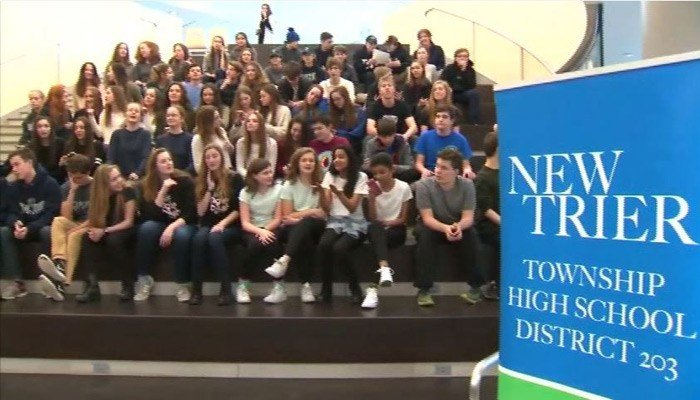 About 10 percent of the sophomore class at a Chicago-area high school is made up of multiples. (Source: WLS/CNN)