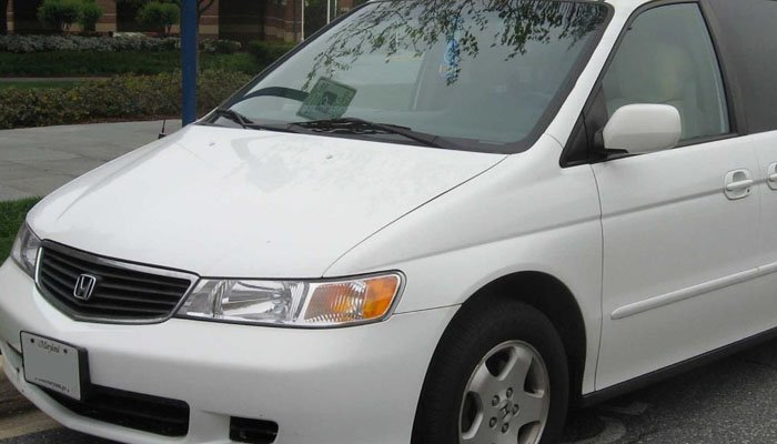 If you see a Honda Odyssey van with tag number NIS5N,call police immediately. (Source: IFCAR/Wikipedia.org)
