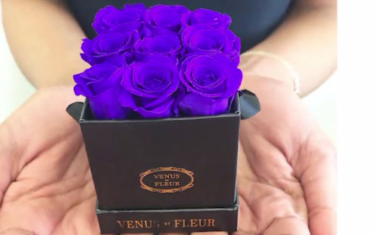 These roses are imported from South America don't come cheap. (Source: Venus Et Fleur/CNN)