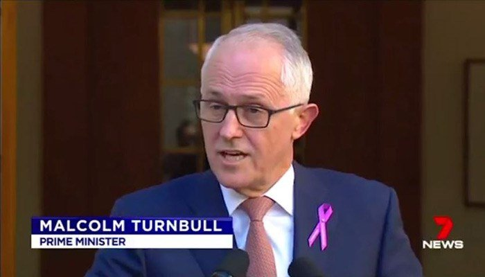 Australian PM bans ministers from having sex with staff