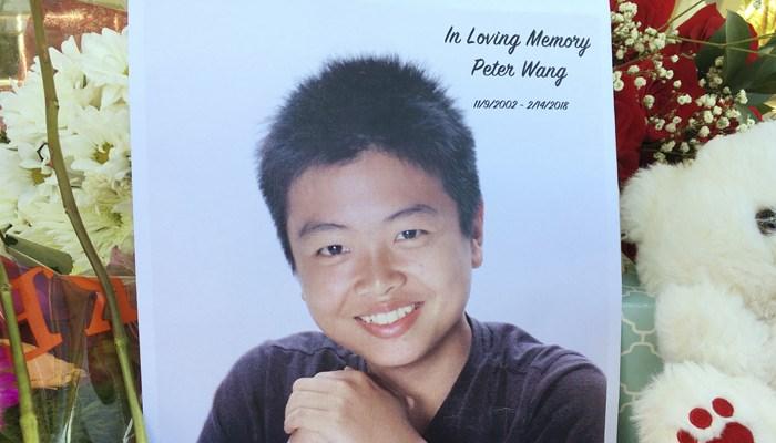 Junior ROTC cadet Peter Wang was wearing his uniform when he was gunned down during last week's shooting at Marjory Stoneman Douglas High School. (Source: Allen Breed/AP)