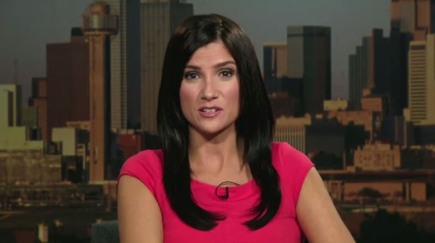 Dana Loesch, a vocal Second Amendment supporter, took questions from the students and families affected by the Marjory Stoneman Douglas High School shooting at a CNN town hall on Wednesday. (Source: CNN)