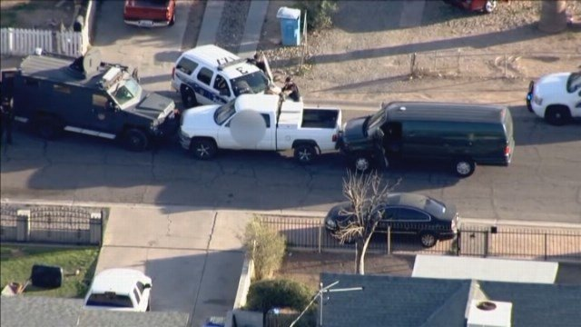 Police are still working to determine the motive for the crime. The suspect is in critical condition. (Source: KNXV/CNN)