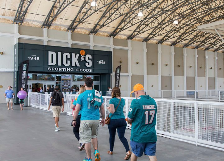 Dick's Sporting Goods announced Wednesday it would also end guns sales to anyone under the age of 21. (Source: AP Photos)