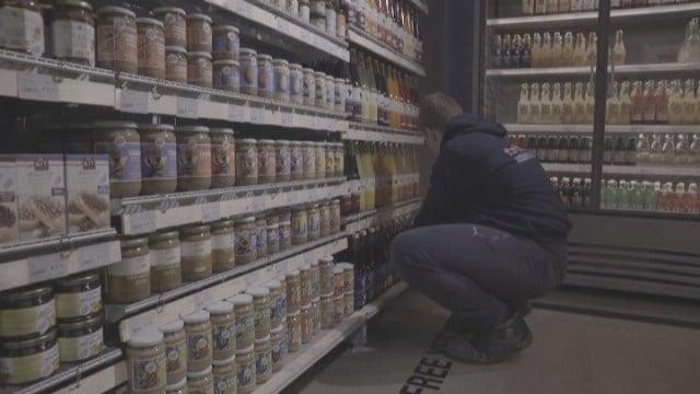 Dutch supermarket opens world's first plastic-free aisle