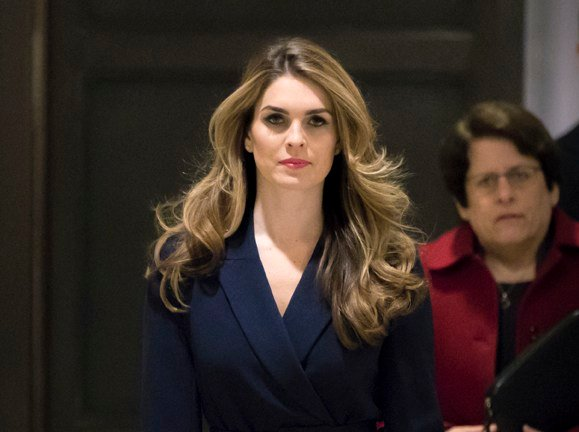 White House Communications Director Hope Hicks, one of President Trump's closest aides and advisers, is planning to resign. Hicks testified behind closed doors with the House Intelligence Committee earlier this week. (AP Photo/J. Scott Applewhite)