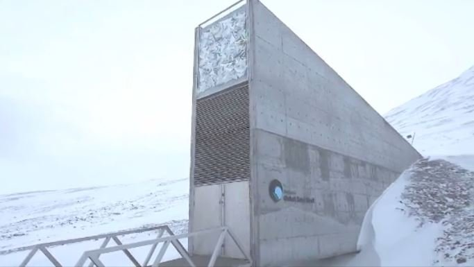 The Svalbard Global Seed Vault was finished in 2008. (Source: CNN)