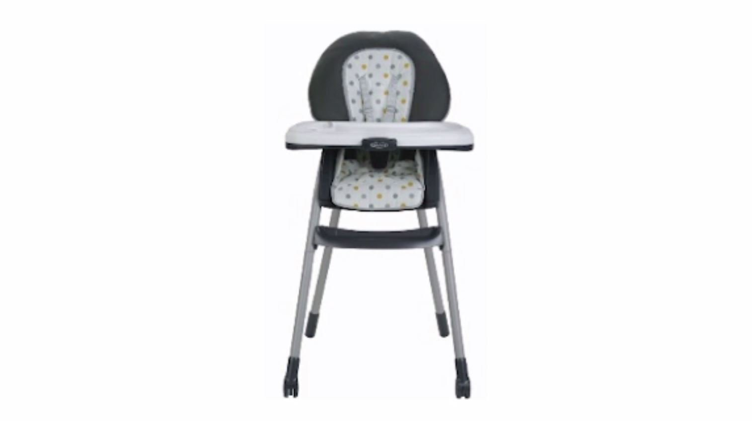 Graco is recalling its Table2Table 6-in-1 high chair because of an issue with one of its rear legs. (Source: Consumer Product Safety Commission/CNN)