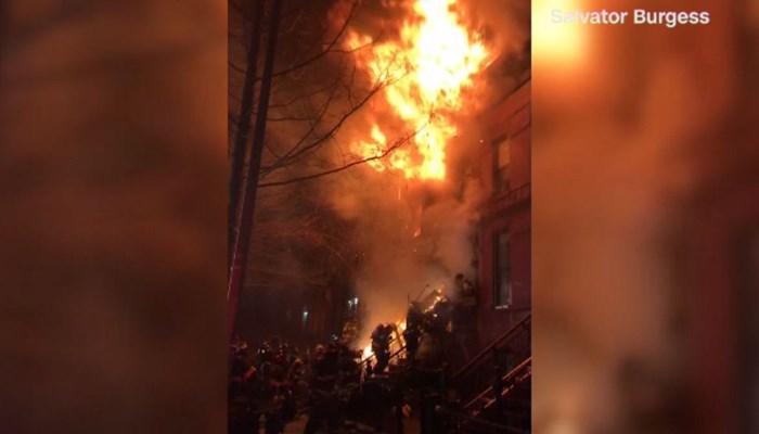 Firefighters Hurt Battling Blaze In Bed-Stuy, Brooklyn