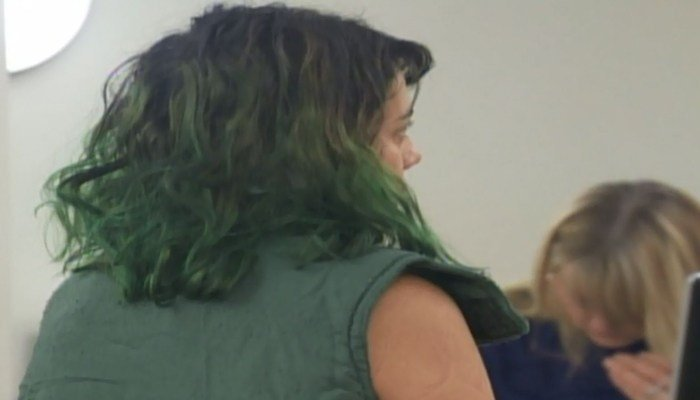 The woman suspected her boyfriend of cheating after finding a Tinder dating app on his phone.  (Source: KOIN/CNN)