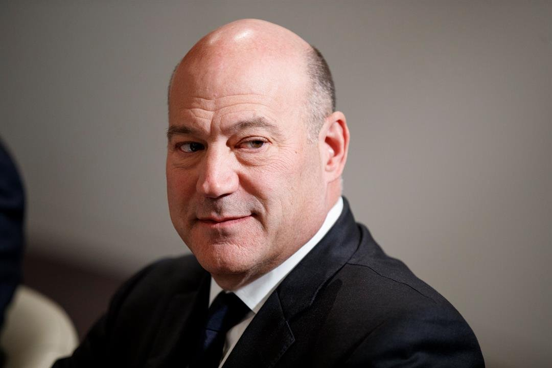 White House chief economic adviser Gary Cohn, seen here at the World Economic Forum in Davos on Jan. 25, 2018, is planning to resign. (AP Photo/Evan Vucci)