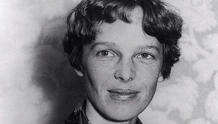Three years after Amelia Earhart's ill-fated mission, human bones were found on Nikumaroro Island, a west Pacific island near Earhart's projected flight path. (Source: Library of Congress/CNN)