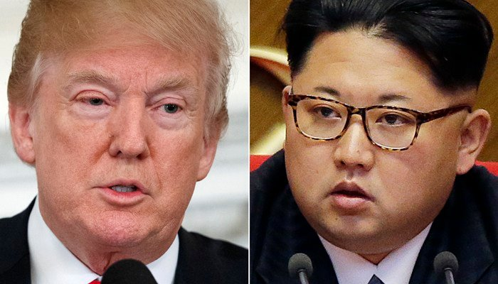 President Trump and Kim Jong Un are expected to meet sometime before May. (Source: (AP Photo/Evan Vucci, Wong Maye-E, File)