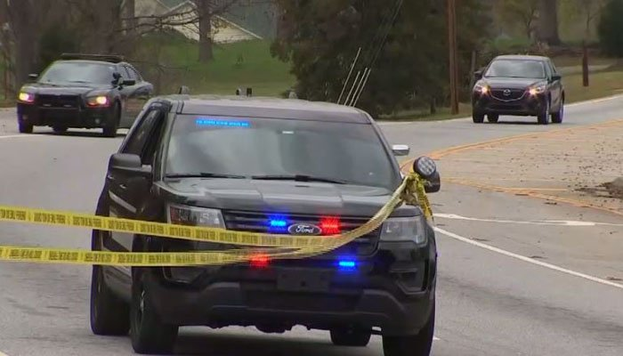 Police say the shooting, which resulted in the death of one driver, could be a case of road rage. (Source: WSB/CNN)