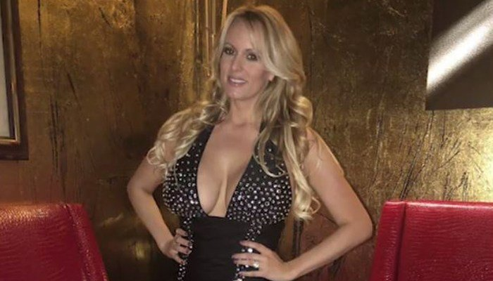 Stormy Daniels' real name is Stephanie Clifford. (Source: CNN)