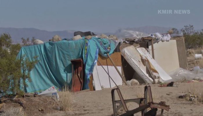 The parents' friends have been fighting for them, collecting money to gift the family a new home. (Source: KMIR/CNN)