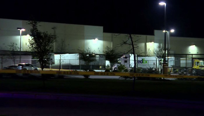 Package detonates at FedEx facility in Texas