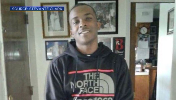 Sacramento police shot 20 times at unarmed man in his yard