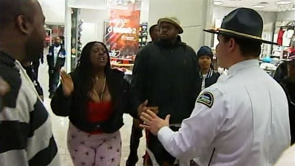 Fights broke out in several shoe stores Friday as crowds waited to buy the new AirJordan Concord 11 shoes. (Source: WBTV)
