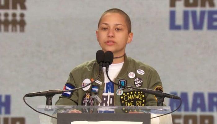 Social media reacts to doctored Emma Gonzalez photo in gun control debate