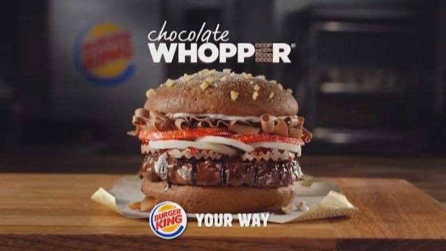 Burger King, T-Mobile, and many more took to social media to taunt the gullible on April Fools' Day. (Source: BURGER KING/CNN)