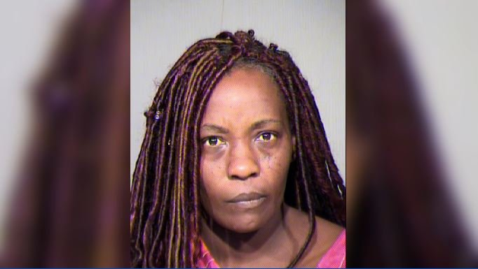 Sharon Dobbins, 40, was arrested on suspicion of one count of child abuse. (Source: Maricopa County Sheriff's Office)