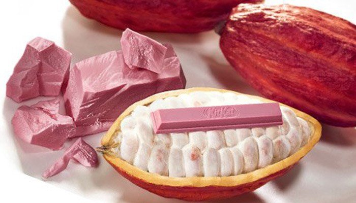 KitKat are launching a brand new pink chocolate bar