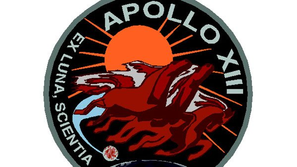 Troubled lunar mission Apollo 13 blasted off at 13:13 CST on April 11, 1970.