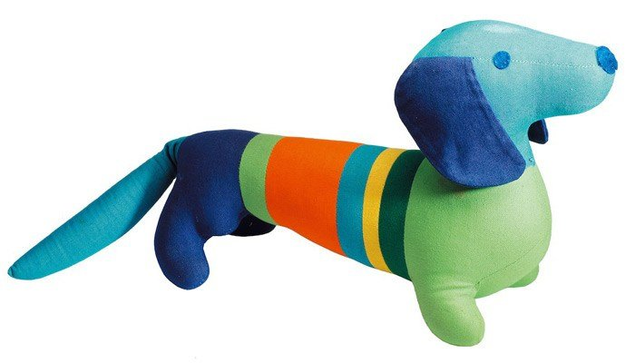 The dachshund was the mascot of the 1972 Olympics in Munich. (Source: International Olympic Committee)