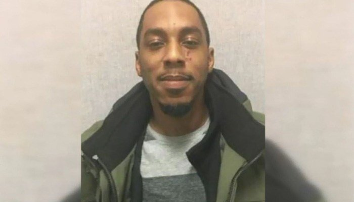 Police said Quinnton Eric Brown's fingerprints were found on the bag at the crime scene. He is now charged with murder. (Source: WJLA/CNN)