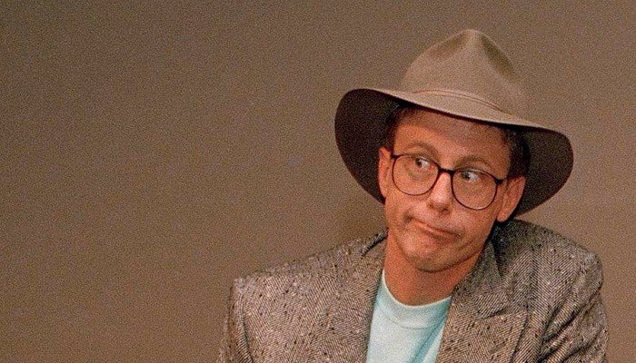 "Harry Anderson, an actor best known for his role in the sitcom ""Night Court,"" has died at the age of 65. (Source: Associated Press)"