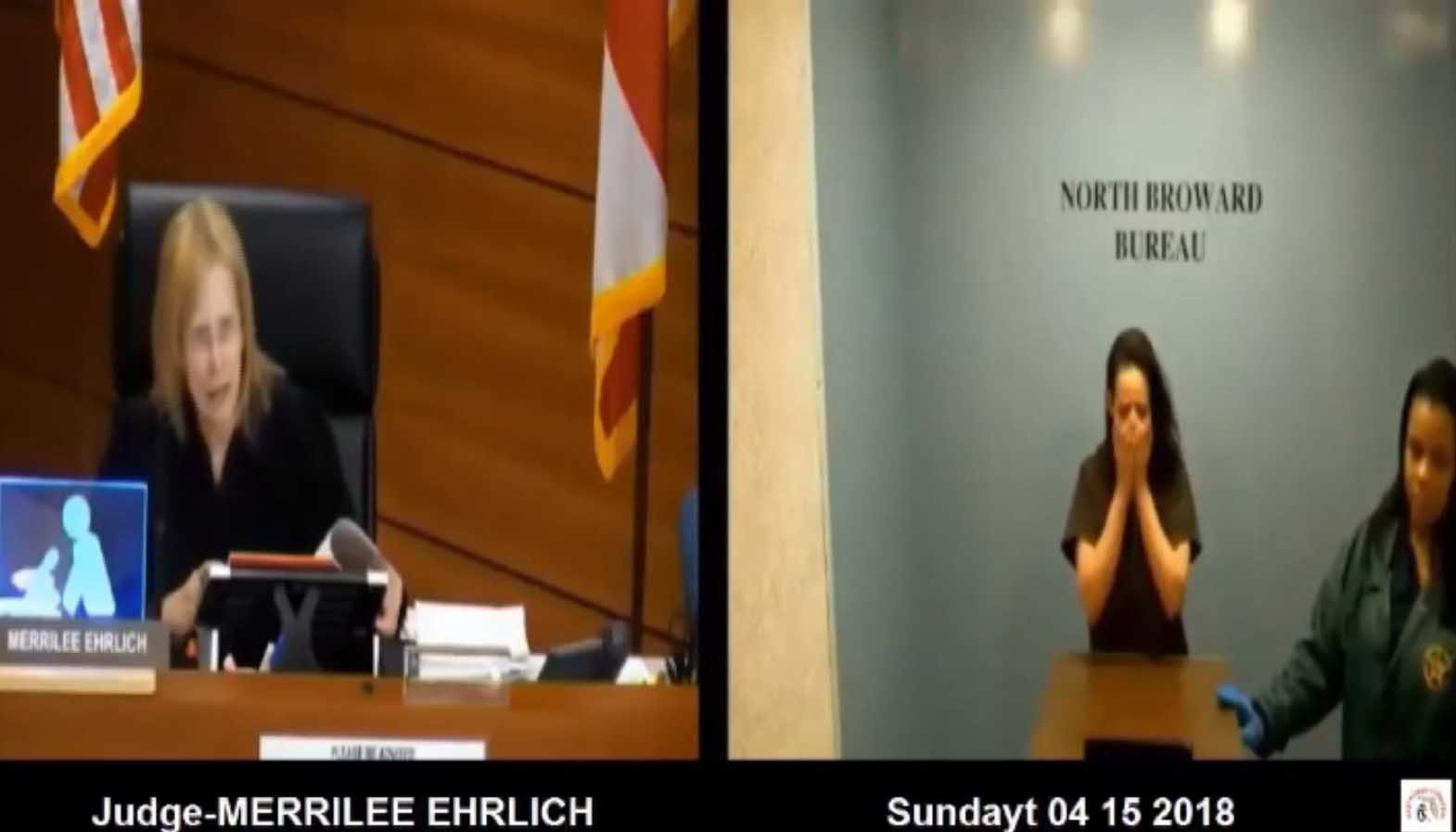 Judge Merrilee Ehrlich has stepped down after being accused of berating defendants. (Source: WSVN/CNN)