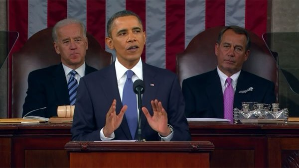 President Barack Obama delivers the 2011 State of the Union address. (Source: CNN)