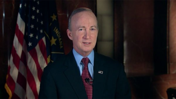 Indiana Gov. Mitch Daniels accuses Obama of dividing the nation. (Source: CNN)