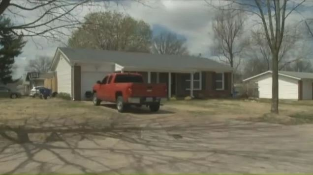 Sawyers watched her Florissant, MO, home go to auction Thursday. The highest bidder was her former attorney. (Source: KPLR/CNN)