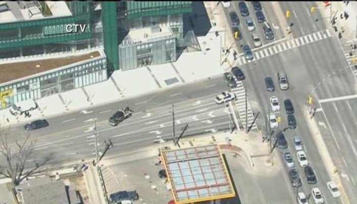 Van hits multiple pedestrians in Toronto, police say