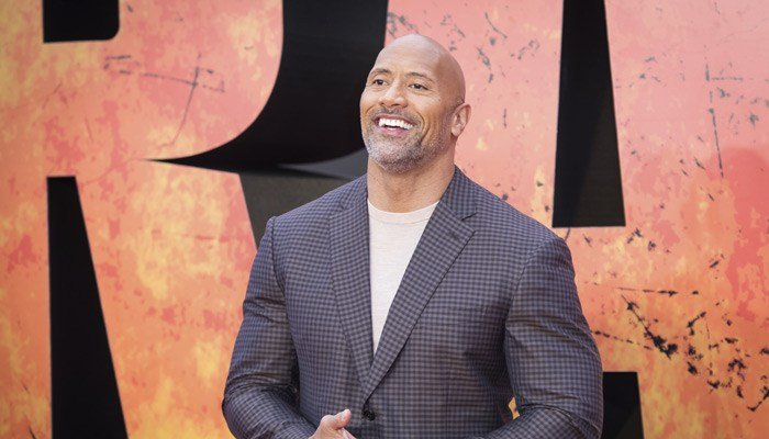 """Dwayne """"The Rock"""" Johnson posted the news of his daughter's birth on Instagram. (Source: Vianney Le Caer/AP)"""