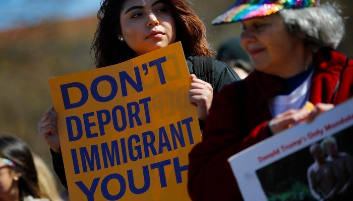 Third US judge rules against Trump's bid to end DACA